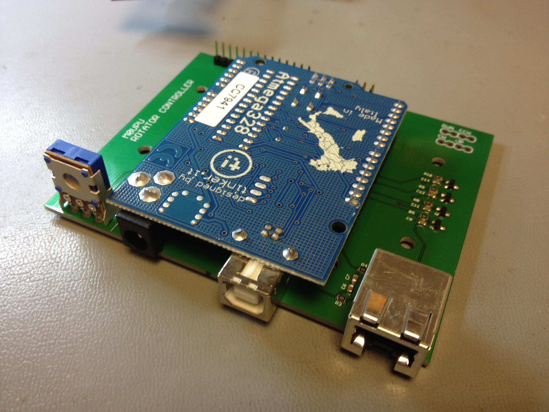 Arduino Based Yaesu Rotator Controller Ava High Altitude Balloon G 1000dxc Circuit Diagram Then