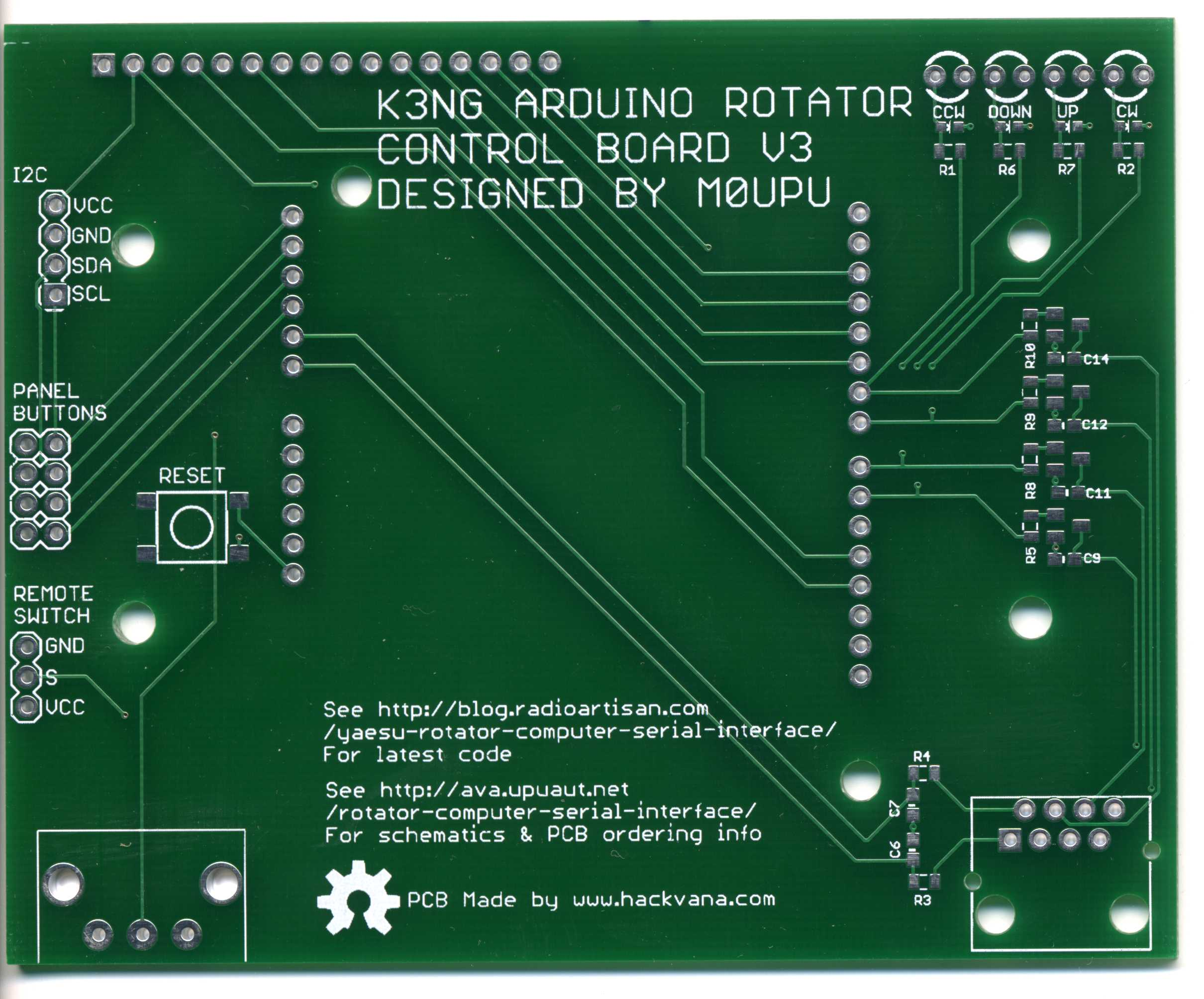 Arduino based Yaesu Rotator Controller | Ava High Altitude